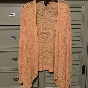 Torrid Yellow Sweater Cardigan size 3x